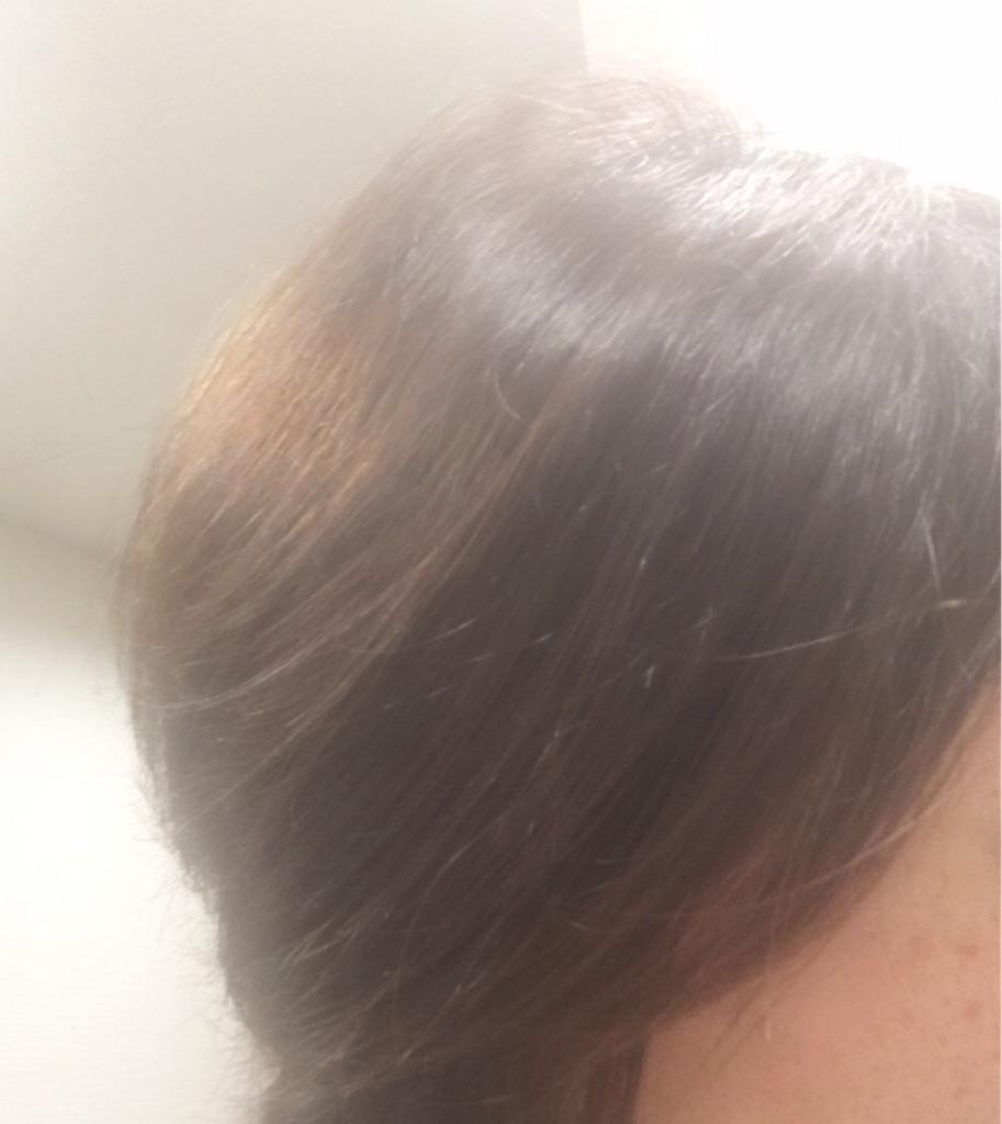 mogansを使って1週間後の髪(ふんわり)